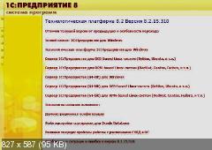 1С:Предприятие 8.2 - Технологическая платформа 8.2.15.310 Полный пакет (18.04.2012)