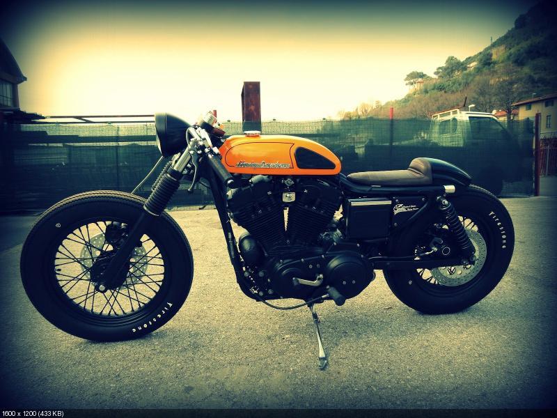 Кафе рейсер Harley-Davidson от Passion 4 Custom