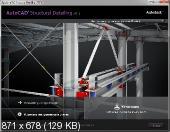 Autodesk AutoCAD Structural Detailing 2013 (x86-x64) (2012) Русский + Английский