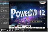 CyberLink PowerDVD Ultra 12.0.1618.54 (2012) RePack