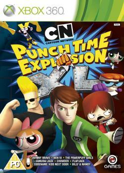 Cartoon Network: Ounch Time Explosion XL (2012, XBOX360)