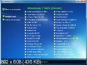 Microsoft Windows 7 Максимальная SP1 x86/x64 DVD Original WPI 23.05.2012