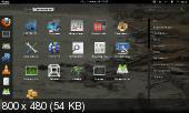 Fedora 17 Live сборка (x86/amd64/2012)
